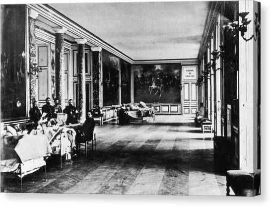 Palace Hospital Canvas Print by Henry Guttmann Collection