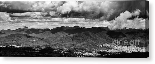 Cloudscape Canvas Print - Panorama Melodrama by Jorgo Photography - Wall Art Gallery