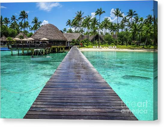 Rangiroa, Tuamotu - Paradise On Earth Canvas Print