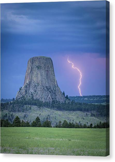 Parallel The Tower Canvas Print
