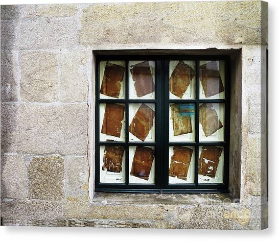 Canvas Print featuring the photograph Parchment Panes by Rick Locke