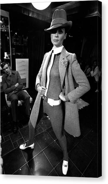 Paris Fashions Canvas Print by Evening Standard