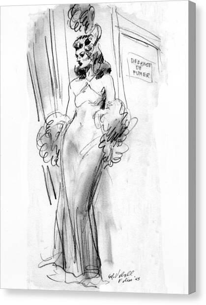 Paris Folies Canvas Print