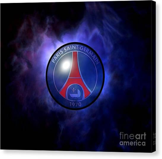 Paris Saint-germain Fc Canvas Print - Paris Saint Germain by Santosa Surya