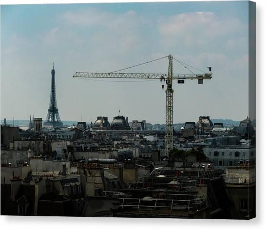 Paris Towers Canvas Print