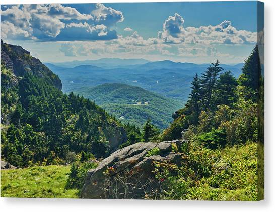 Parkway Overlook Canvas Print