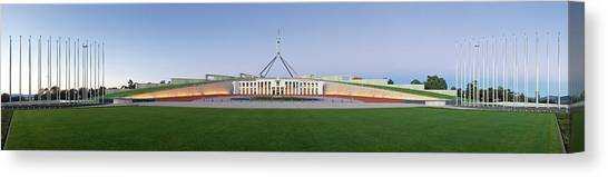Canberra Canvas Print - Parliament House by Andrew Watson