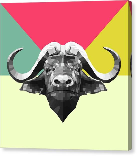 Lynx Canvas Print - Party Buffalo by Naxart Studio