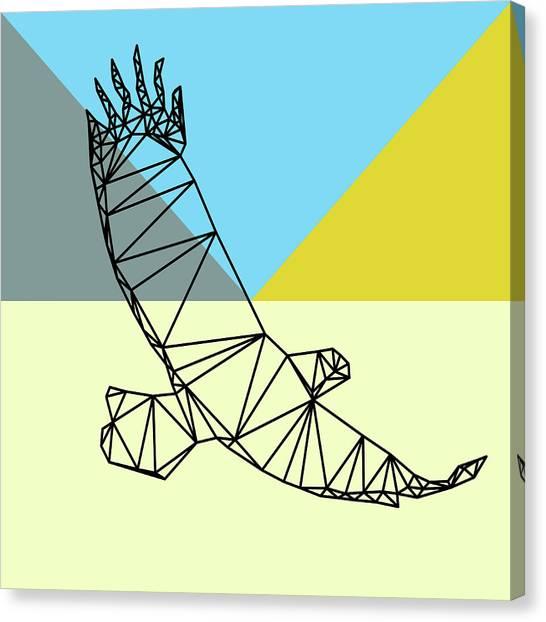 Lynx Canvas Print - Party Eagle by Naxart Studio