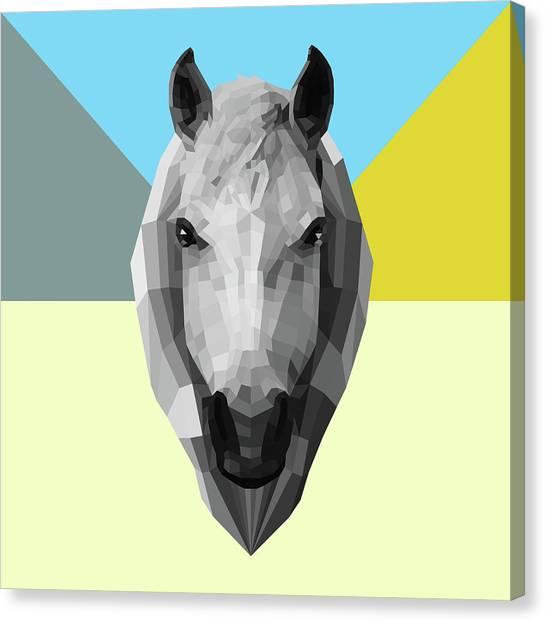 Lynx Canvas Print - Party Horse by Naxart Studio