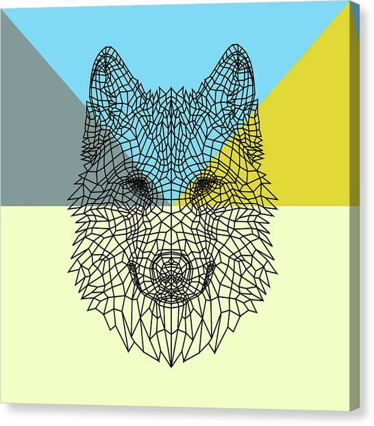 Lynx Canvas Print - Party Wolf by Naxart Studio