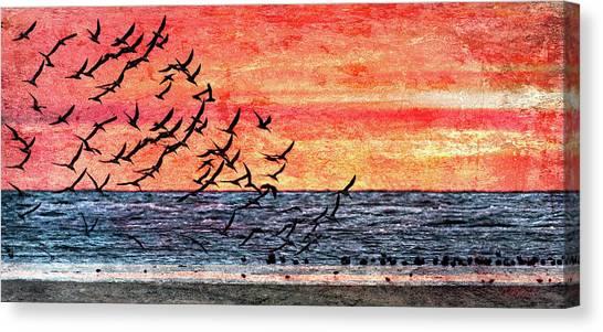 Patriotic Sunrise Canvas Print