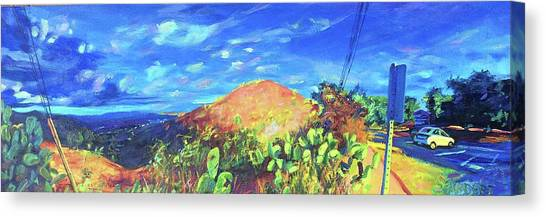 Pause On Mulholland Drive Canvas Print