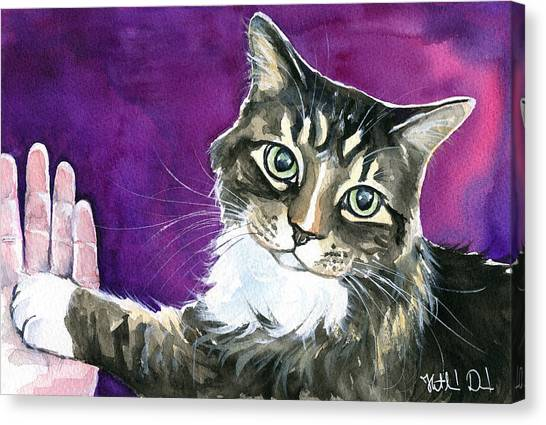 Paw Love Canvas Print