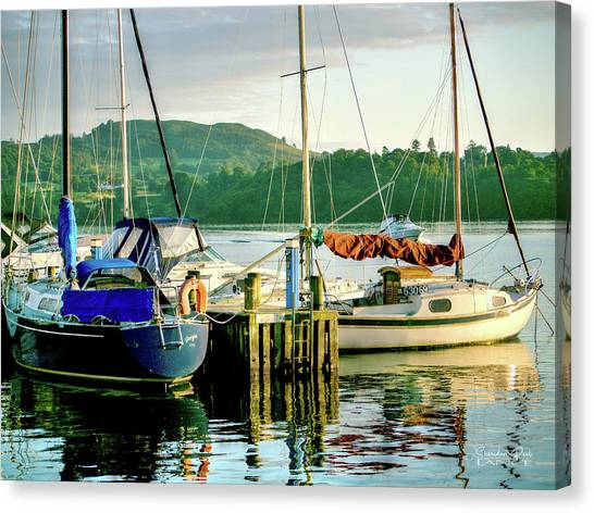 Peace In Lake Windermere Canvas Print