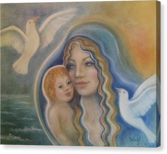 Peace Mother Canvas Print