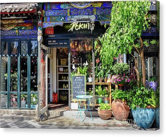 Peking Cafe Canvas Print
