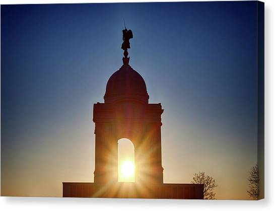 Pennsylvania State Monument Canvas Print