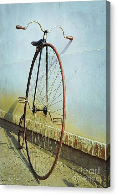 Big Canvas Print - Penny Farthing ,high by Unclepepin