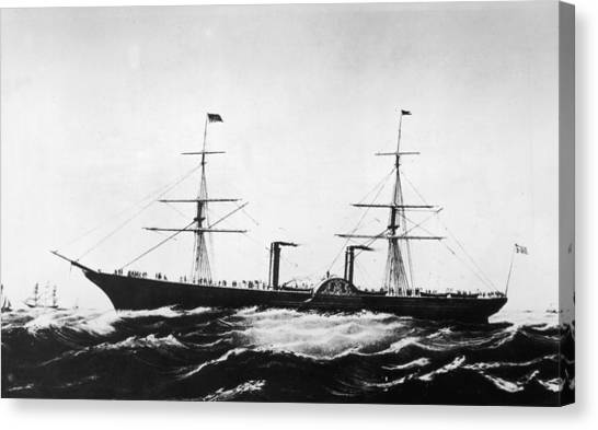 Persia Afloat Canvas Print by Hulton Archive