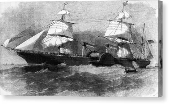 Persia In Full Sail Canvas Print by Hulton Archive