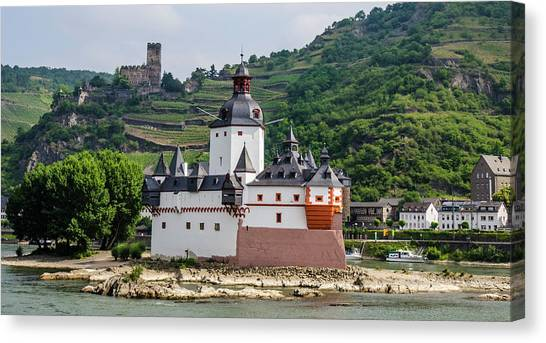 Pfalzgrafenstein Castle Canvas Print