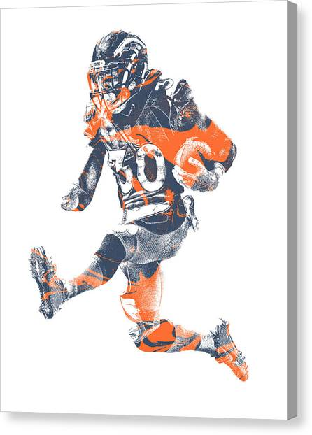 Denver Broncos Canvas Prints | Fine Art America