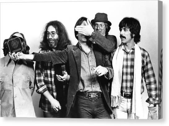 Photo Of Grateful Dead Canvas Print