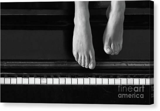 Piano #0215az Canvas Print