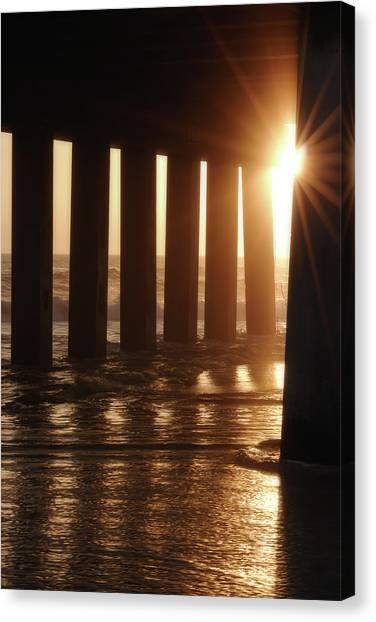 Pier Light Canvas Print