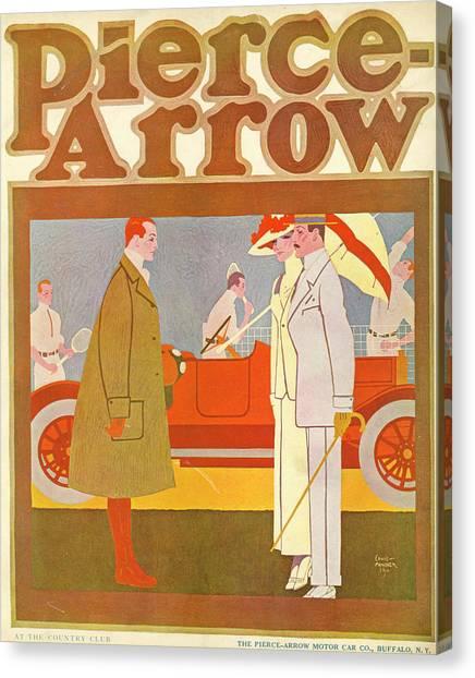 Pierce-arrow Advertisement Canvas Print