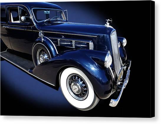 Pierce Arrow Model 1603 Limousine Canvas Print