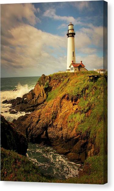 Pigeon Point Light Station, California Canvas Print