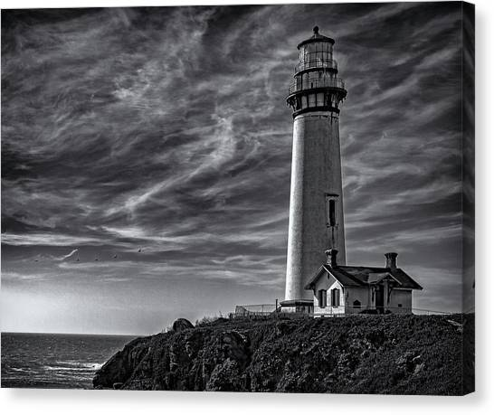 Pigeon Point Light Station Canvas Print