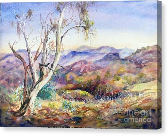 Pilbara, Hamersley Range, Western Australia. Canvas Print