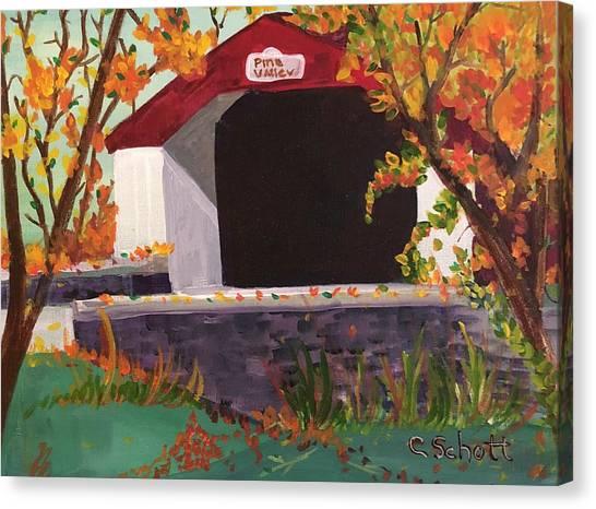 Pine Valley Canvas Print