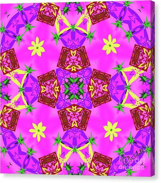 Pink 3 Canvas Print