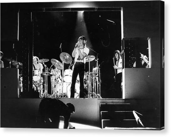Pink Floyd Canvas Print by Evening Standard