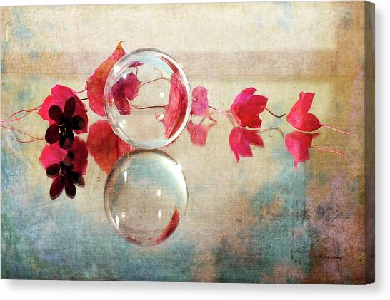 Canvas Print featuring the photograph Pink Line by Randi Grace Nilsberg