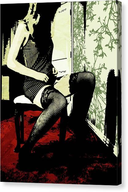 Pinstripes Canvas Print