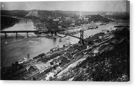 Pittsburgh, Pennsylvania Canvas Print by Fotosearch