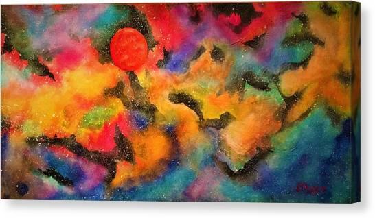 Planet Arcturus Canvas Print