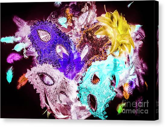 Masquerade Canvas Print - Play On Colors by Jorgo Photography - Wall Art Gallery