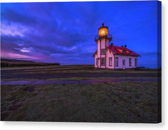 Point Cabrillo Light Station - 3 Canvas Print