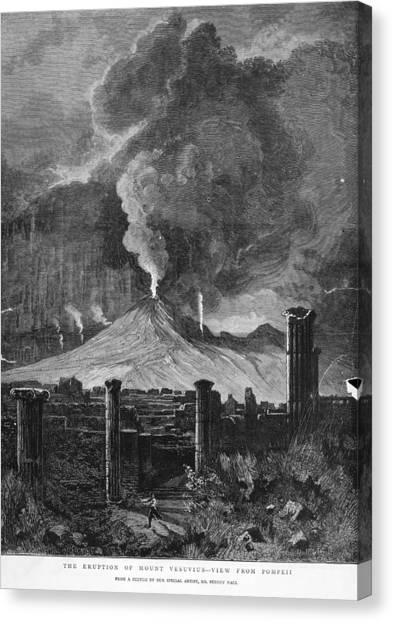 Pompeii Canvas Print by Hulton Archive