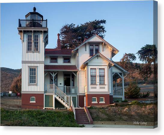 Port San Luis Lighthouse Canvas Print