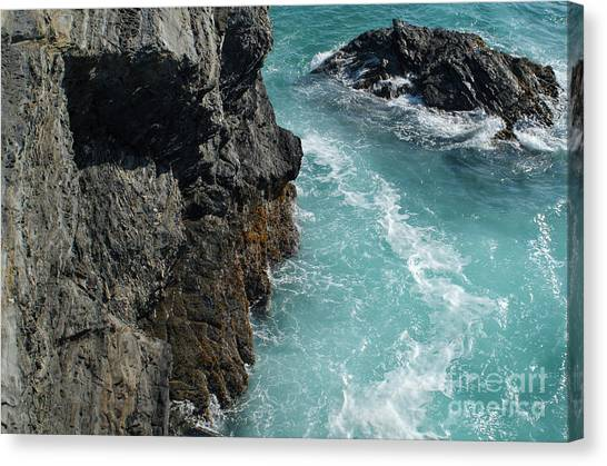 Porto Covo Cliff Views Canvas Print