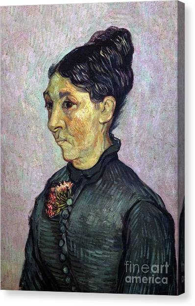 State Hermitage Canvas Print - Portrait Of Madame Trabuc by Peter Barritt