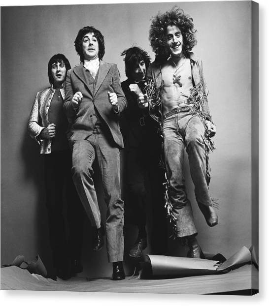 Portrait Of The Who Canvas Print by Jack Robinson