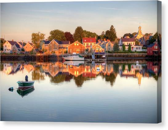 Portsmouth New Hampshire Canvas Print by Denistangneyjr